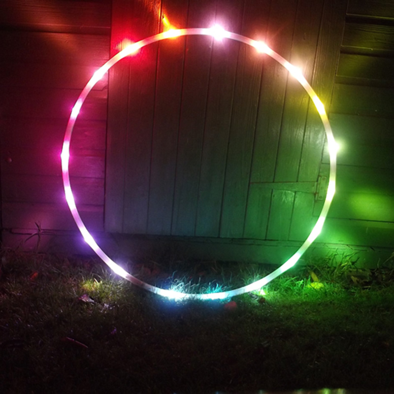 Make an LED Hula Hoop