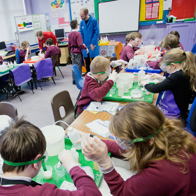 Generation Science in a classroom