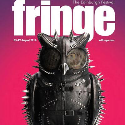 Edinburgh Festival Fringe brochure cover 2016