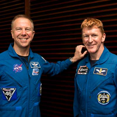 32637Tim Peake and Tim Kopra answer questions about life on the ISS