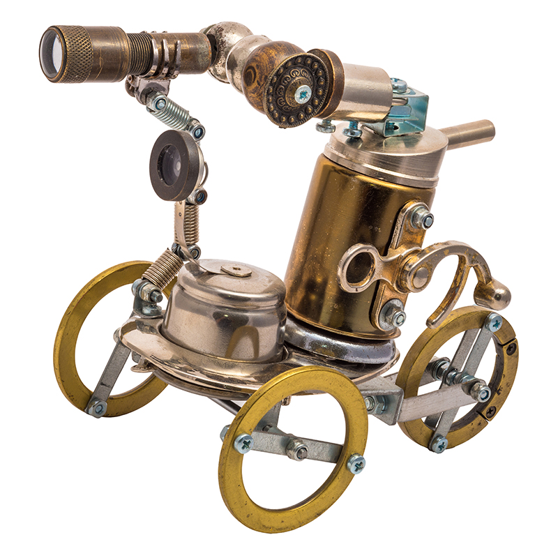 Build a Steampunk Rover