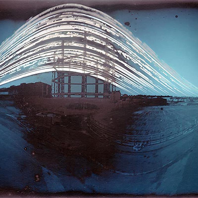 Capture the Sun with a Six-Month Pinhole Camera